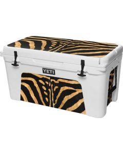 Zebra YETI Tundra 75 Hard Cooler Skin