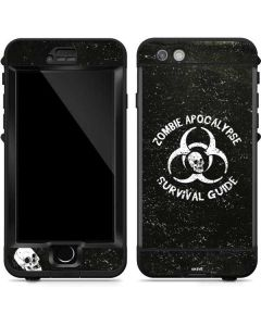 Zombie Apocalypse Survival Guide LifeProof Nuud iPhone Skin