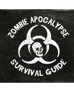 Zombie Apocalypse Survival Guide Apple TV Skin