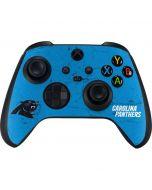 Carolina Panthers Distressed Alternate Xbox Series X Controller Skin