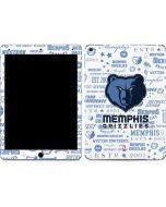 Memphis Grizzlies Historic Blast Apple iPad Air Skin