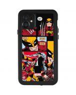 Wolverine Comic Collage iPhone 11 Waterproof Case