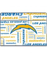 Los Angeles Chargers White Blast Galaxy Book Keyboard Folio 12in Skin