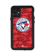 Toronto Blue Jays Digi Camo iPhone 11 Waterproof Case