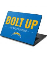 Los Angeles Chargers Team Motto Dell Chromebook Skin