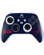 Houston Texans Blue Performance Series Xbox Series S Controller Skin