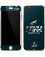 Philadelphia Eagles Super Bowl LII Champions iPhone 6/6s Skin