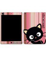 Chococat Pink and Brown Stripes Apple iPad Air Skin