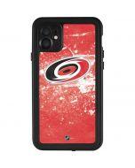 Carolina Hurricanes Frozen iPhone 11 Waterproof Case