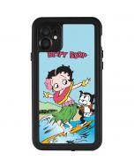 Betty Boop Surfing iPhone 11 Waterproof Case