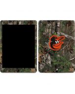 Baltimore Orioles Realtree Xtra Green Camo Apple iPad Air Skin