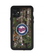 Minnesota Twins Realtree Xtra Green Camo iPhone 11 Waterproof Case