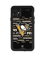 Pittsburgh Penguins Blast iPhone 11 Waterproof Case