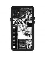 QR Glitch iPhone 11 Waterproof Case