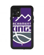 Sacramento Kings Large Logo iPhone 11 Waterproof Case