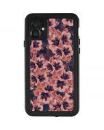 Dark Tapestry Floral iPhone 11 Waterproof Case