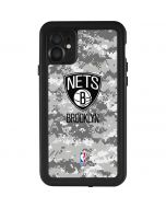 Brooklyn Nets Digi Camo iPhone 11 Waterproof Case