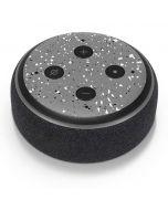 Grey Speckle Amazon Echo Dot Skin