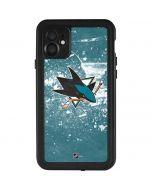 San Jose Sharks Frozen iPhone 11 Waterproof Case