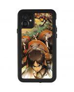 Eren Mikasa And Armin iPhone 11 Waterproof Case