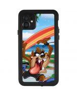 Tasmanian Devil Surfboard iPhone 11 Waterproof Case