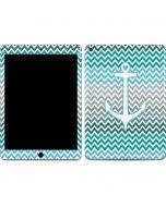Anchor of Love- Aqua Apple iPad Air Skin