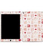 Hello Sanrio Outline Apple iPad Air Skin