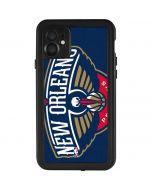 New Orleans Pelicans Large Logo iPhone 11 Waterproof Case