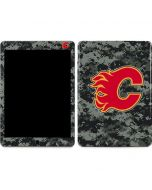 Calgary Flames Camo Apple iPad Air Skin
