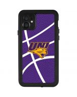 Northern Iowa Panthers Leather iPhone 11 Waterproof Case