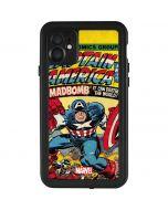 Marvel Comics Captain America iPhone 11 Waterproof Case