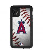 Los Angeles Angels Game Ball iPhone 11 Waterproof Case