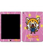 Aggretsuko Breaking Point Apple iPad Air Skin