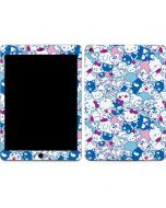 Hello Sanrio Blue Blast Apple iPad Air Skin