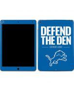 Detroit Lions Team Motto Apple iPad Air Skin