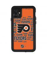 Philadelphia Flyers Blast iPhone 11 Waterproof Case