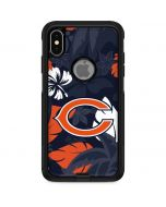 Chicago Bears Tropical Print Otterbox Commuter iPhone Skin