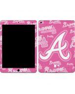 Atlanta Braves - Pink Cap Logo Blast Apple iPad Air Skin