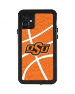 OSU Oklahoma Cowboys Basketball iPhone 11 Waterproof Case