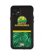 Seattle SuperSonics Retro Palms iPhone 11 Waterproof Case