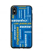 Los Angeles Chargers - Blast Otterbox Symmetry iPhone Skin