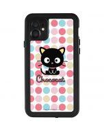 Chococat Pink Circles iPhone 11 Waterproof Case