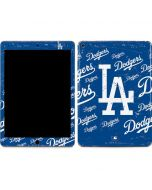 Los Angeles Dodgers - Cap Logo Blast Apple iPad Air Skin