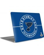 2019 Stanley Cup Champions Blues Apple MacBook Air Skin