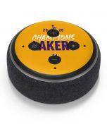 2020 Champions Lakers Amazon Echo Dot Skin