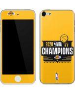 2020 NBA Champions Lakers Apple iPod Skin