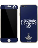 2020 Stanley Cup Champions Lightning iPhone 6/6s Skin