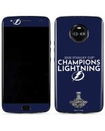 2020 Stanley Cup Champions Lightning Moto X4 Skin