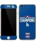 2020 World Series Champions LA Dodgers iPhone 6/6s Skin