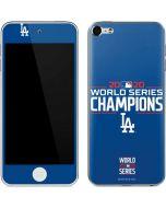 2020 World Series Champions LA Dodgers Apple iPod Skin